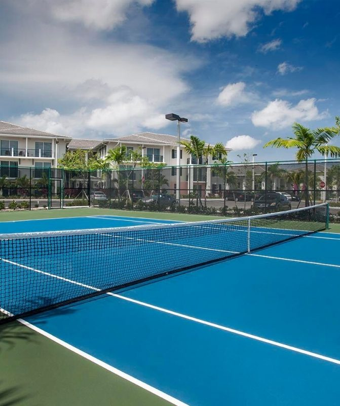 Athos Capital Development - Town City Center Tennis Court